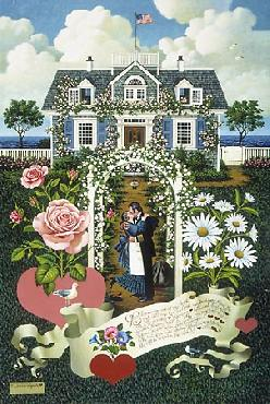 Charles Wysocki Home is My Sailor