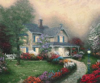 Thomas Kinkade Home Is Where the Heart Is SN Paper