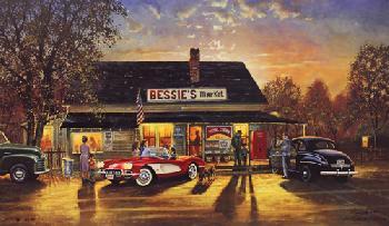 Dave Barnhouse Hometown Hero Canvas