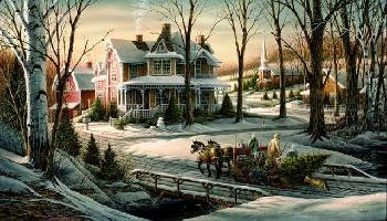 Terry Redlin Homeward Bound Signed Open Edition on Paper