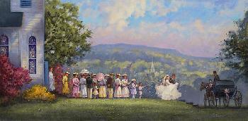 Paul Landry Hope and Joy Giclee on Canvas