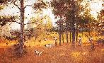 Robert Abbett Hunting at Hawkeye