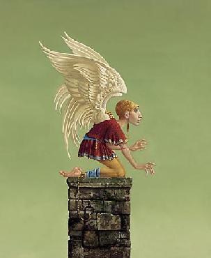 James Christensen Icarus Bound