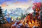 Thomas Kinkade Ice Age