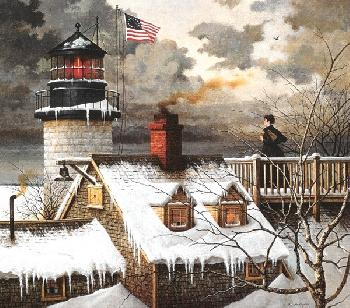 Charles Wysocki I Hope Your Seas are Calm Master Canvas Edition Legacy Collection