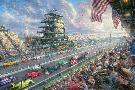 Thomas Kinkade Indy Excitement, 100 Years of Racing