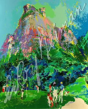 Leroy Neiman International Foursome Hand Pulled Serigraph