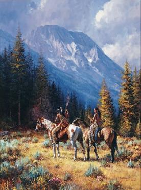 Martin Grelle Intruders Signed Open Edition on Paper