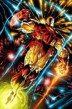 Joe Quesada Iron Man Signed by Stan Lee