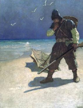 Newell Convers Wyeth I stood like one thunderstruck Open Edition Giclee on Paper
