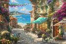 Thomas Kinkade Italian Cafe