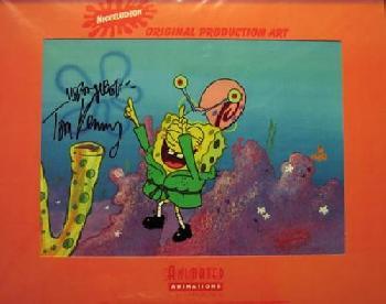 Nickelodeon Jellyfish Jam Original Hand-Painted Cel