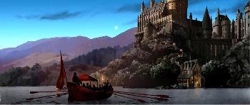 Stuart Craig Journey to Hogwarts Giclee on Canvas