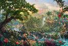 Thomas Kinkade Jungle Book