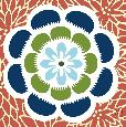 Butler Kyoto Bloom Coral Artaissance Giclee on Paper
