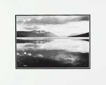 Ansel Adams Lake MacDonald LG Matted