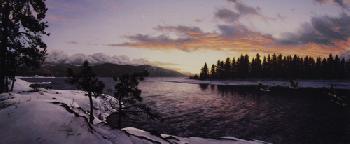 Stephen Lyman Last Light of Winter Light in the Wilderness Portfolio