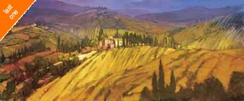 Philip Craig Last View of Tuscany   LAST ONES IN INVENTORY!!