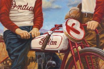 Brian Loker Legends Canvas