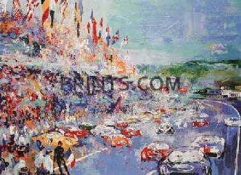 LeRoy Neiman Le Mans Grand Prix d