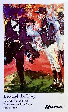LeRoy Neiman Leo and the Ump Open Edition on Paper