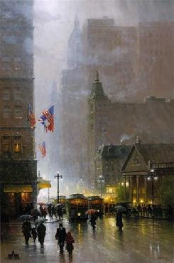G. Harvey Lights of Broadway Artist