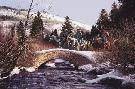 John Paul Strain Lions in Winter