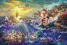 Thomas Kinkade Little Mermaid