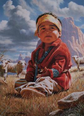 Alfredo Rodriguez Little Navajo Shepherd