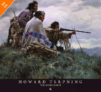 Howard Terpning Long Shot Hand Signed Open Edition on Paper Last Ones!