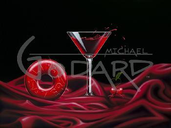 Michael Godard Love is a Life-Savor Giclee on Canvas