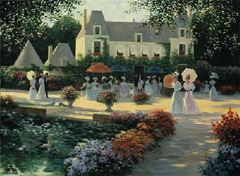 Christa Kieffer Luncheon in the Country - 1900