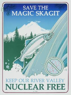 Monte Dolack Magic Skagit Signed Open Edition on Paper