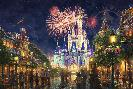 Thomas Kinkade Main Street U. S. A. - Walt Disney World
