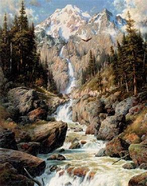 Larry Dyke Majestic Cascade