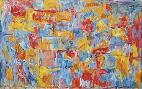 Jasper Johns Map of the United States