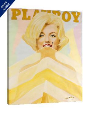 Steve Kaufman Marilyn Cover Print #1/50 Giclee on Canvas