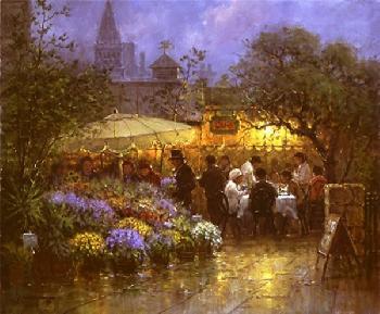 G. Harvey Market Cafe Artist