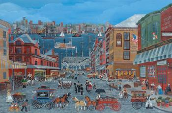 Carol Dyer Market Days on Fulton Street