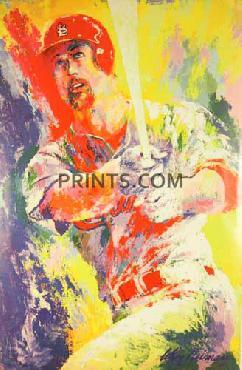 LeRoy Neiman Mark McGwire Open Edition on Paper
