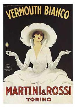Marcello Dudovich Martini & Rossi