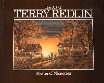 Terry Redlin Master of Memories Hardcover Book