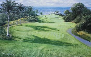 Peter Ellenshaw Mauna Kea 11th Hole