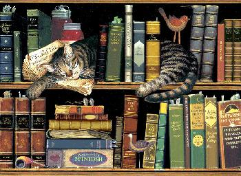 Charles Wysocki Max in the Stacks Open Edition on Paper