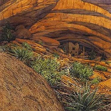 Bev Doolittle Mesa Ruins