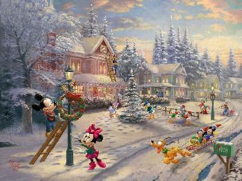 Thomas Kinkade Mickey