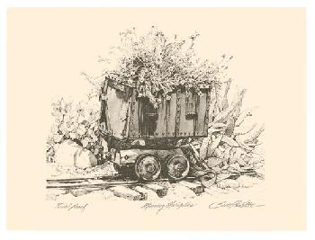 Bev Doolittle Mining Marigolds Original Lithograph