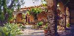 June Carey The Mission at San Juan Capistrano