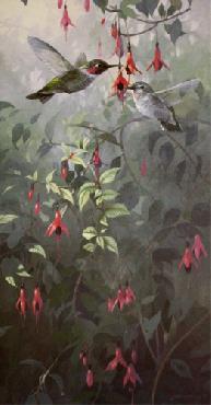Mario Fernandez Misty Morning Ballerinas - Annas Humingbirds