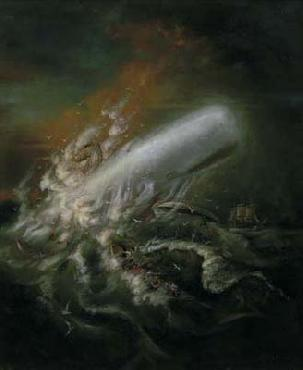 Kinuko Craft Moby Dick Giclee on Paper
